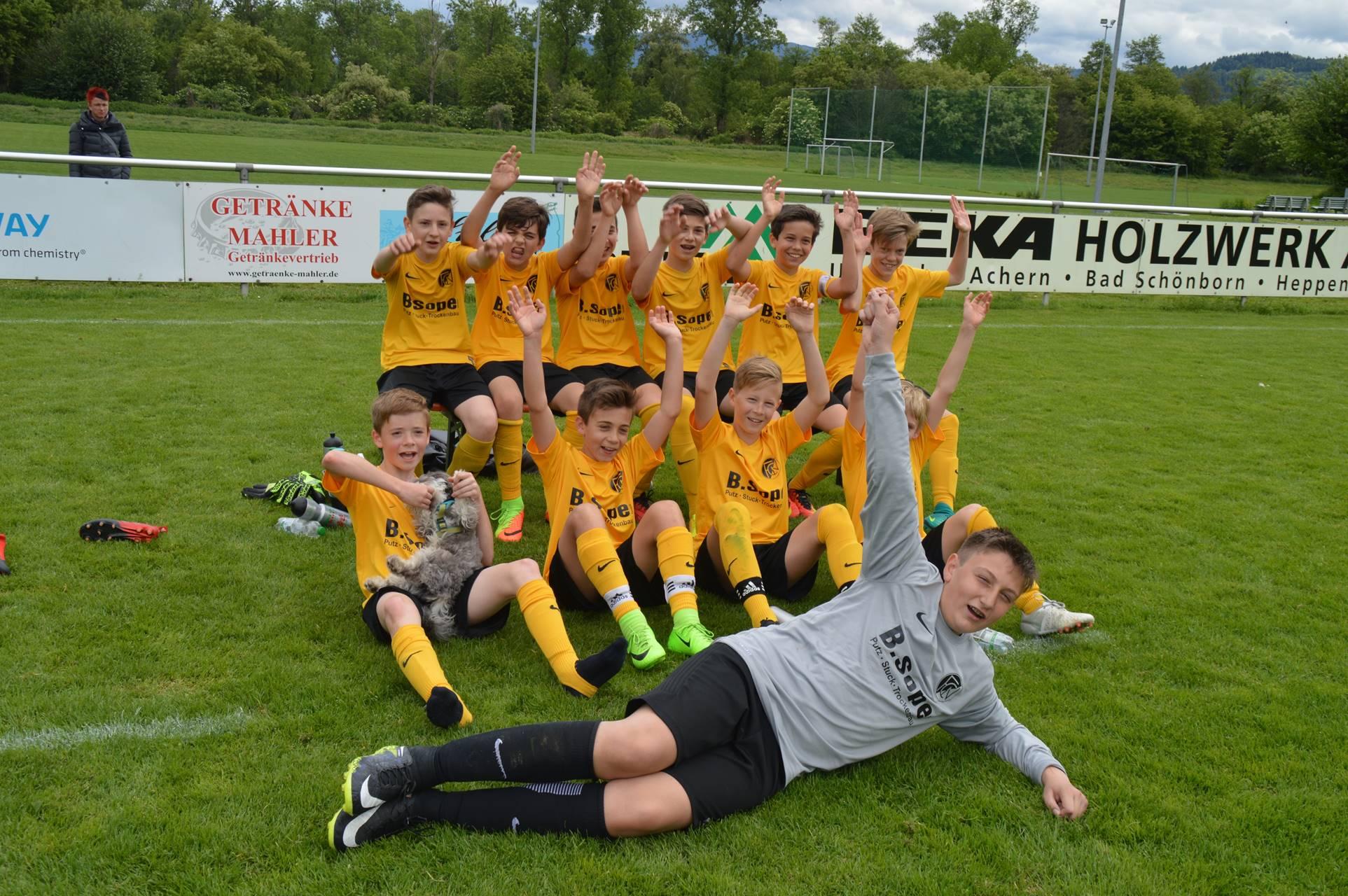 D-Junioren erreichen Bezirkspokalfinale
