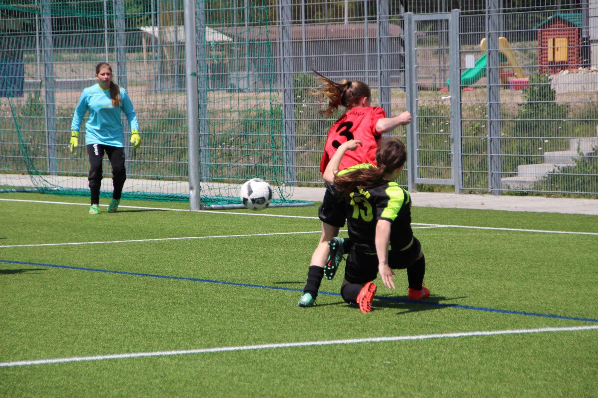 Verbandsliga - B-Juniorinnen gewinnen 6:0 gegen die SG Neukirch