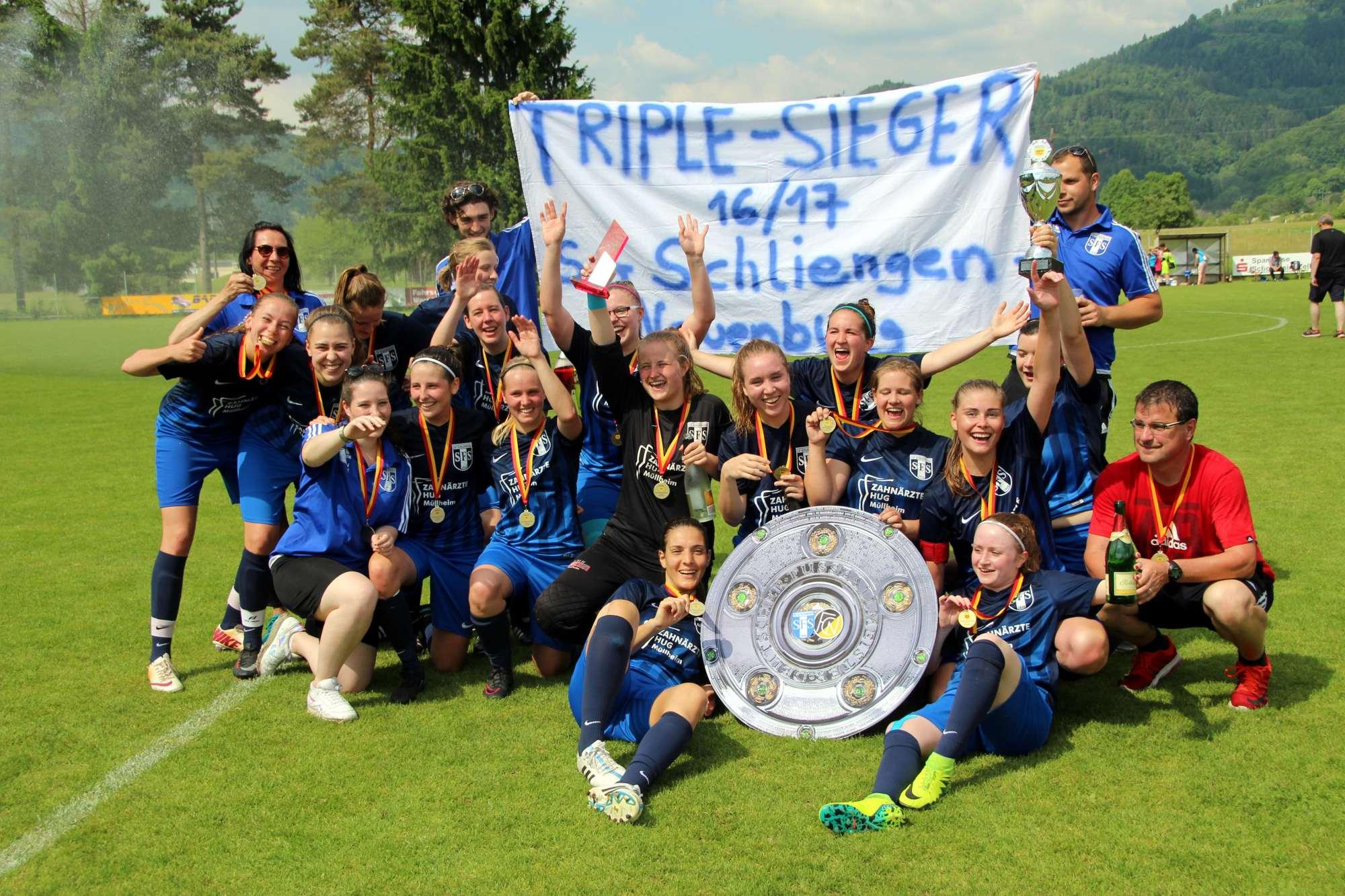 Die SG Schliengen / Neuenburg ist Bezirkspokalsieger 2017
