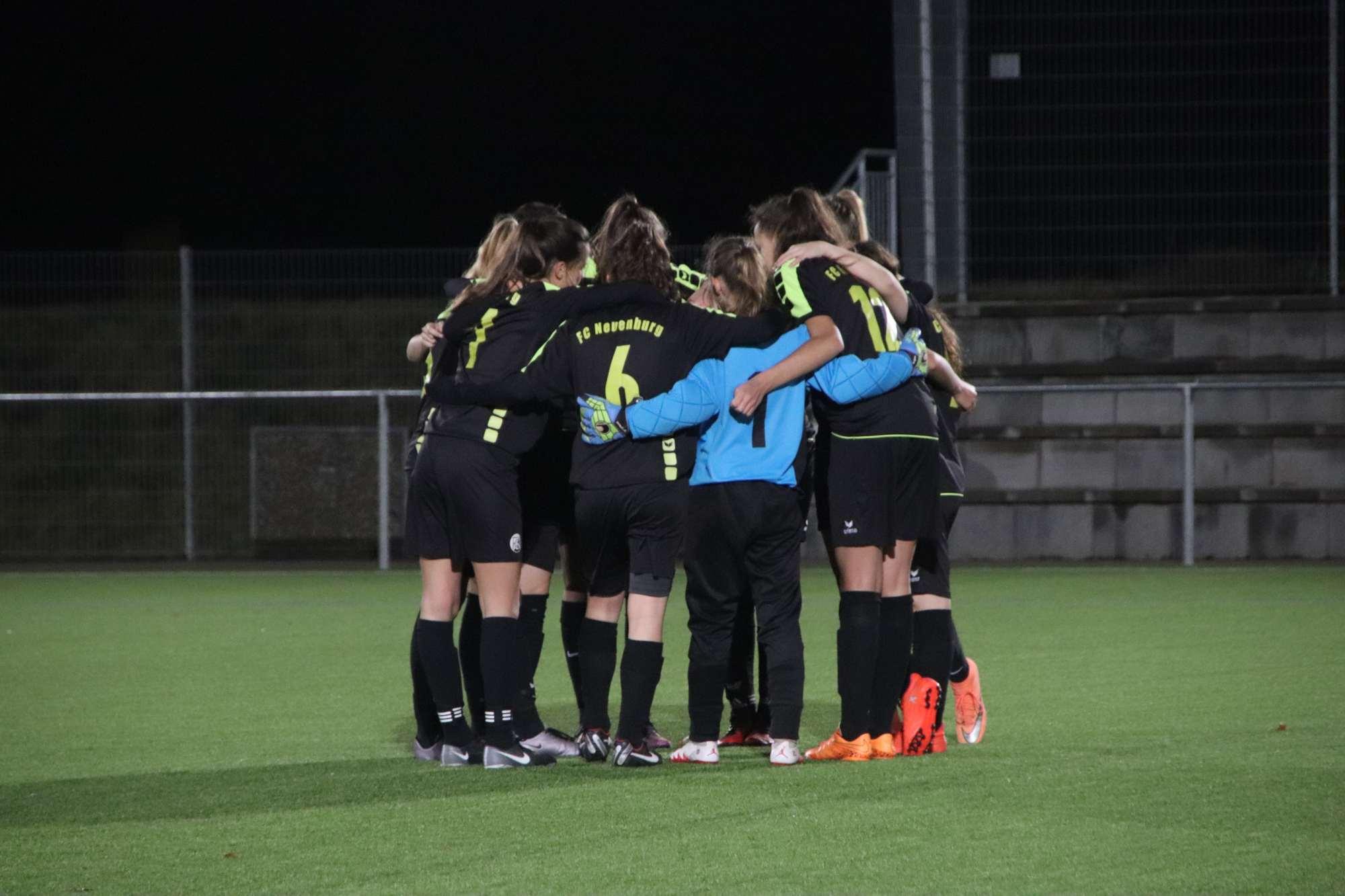 B-Juniorinnen bezwingen den PTSV Jahn Freiburg mit 2:1